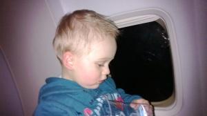 No primeiro voo, Curitiba-São Paulo