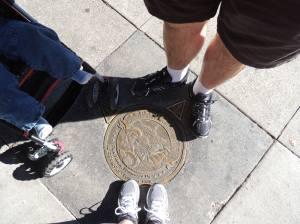 Mais pézinhos - Washington Square