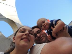 Nós na Coit Tower